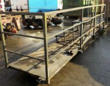20ft Steel Gantry - Container Walkway