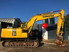 Komatsu PC210 LC-10 Excavator 2016