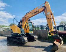 Hyundai R125 LCR9-A Excavator / Digger 2017