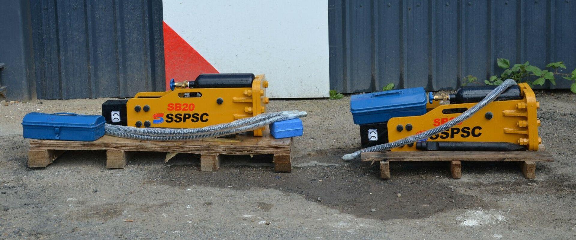 SSPSC SB20 Hydraulic Breaker - Image 6 of 6