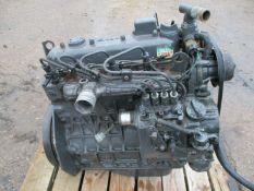Kubota V1505 Diesel 4 Cylinder Electric Start Engine