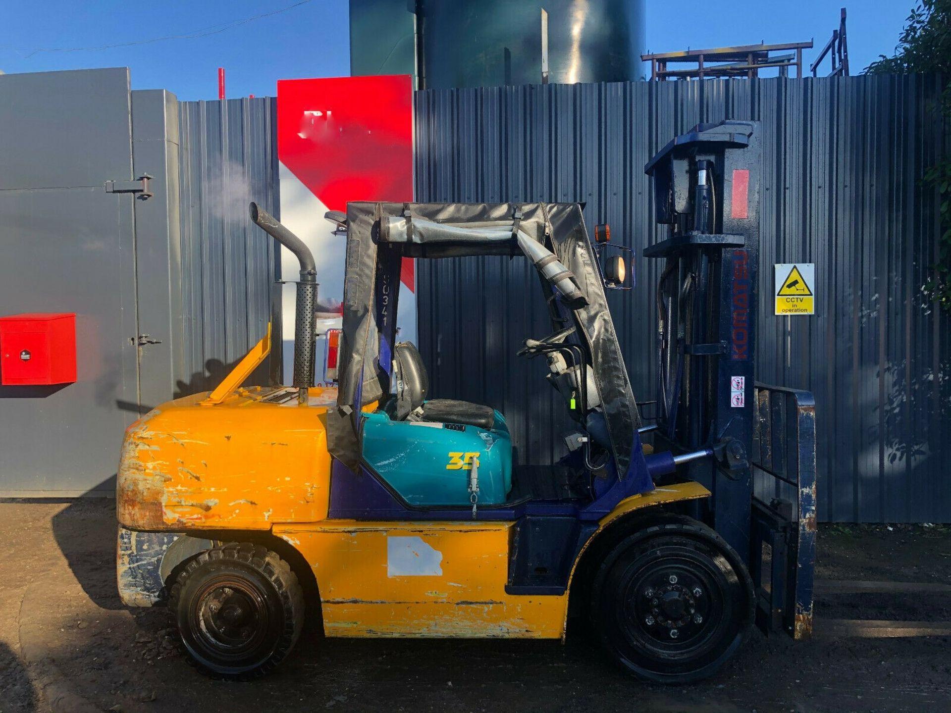 Komatsu FG35 T-7 LPG Forklift