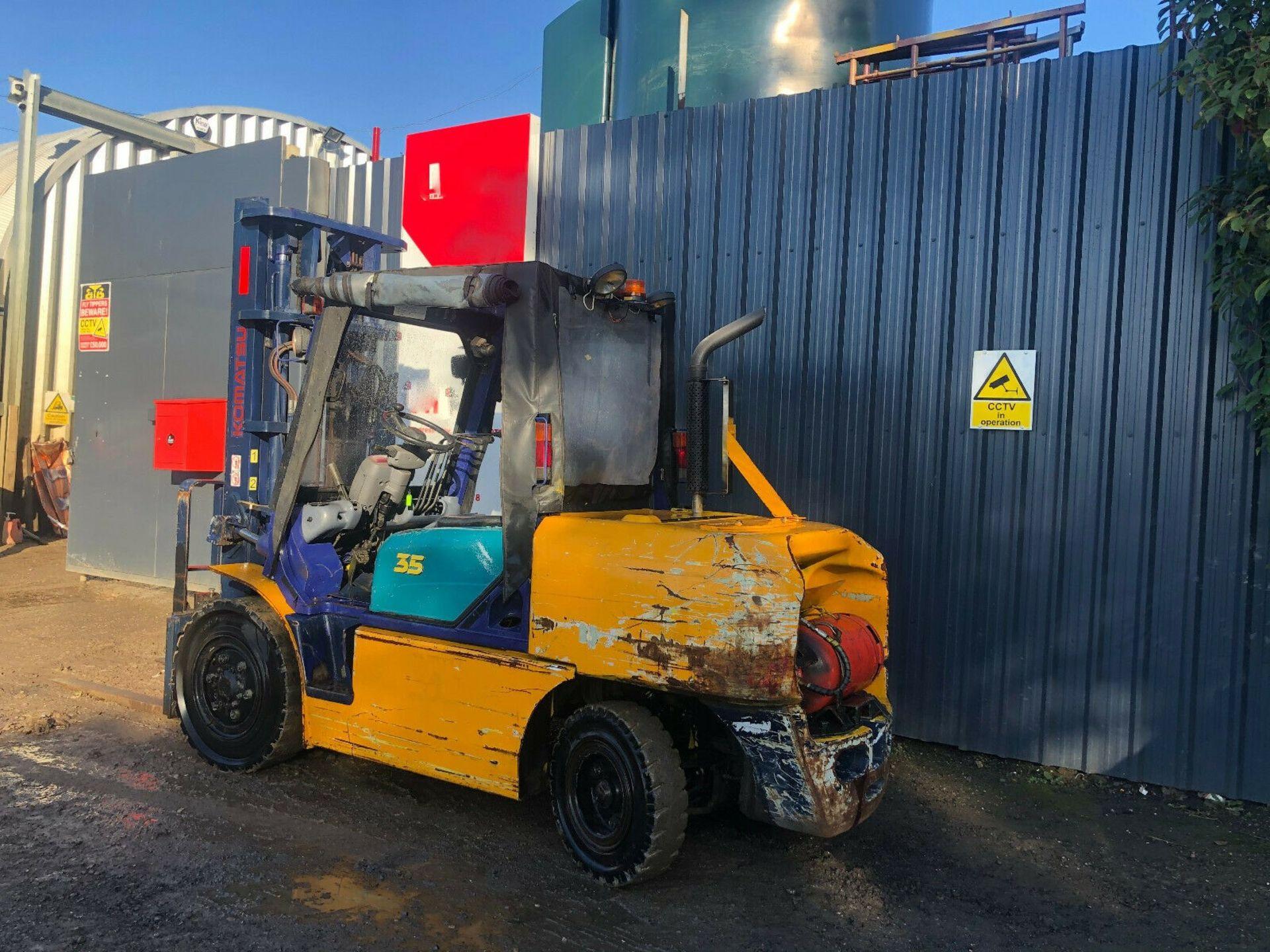 Komatsu FG35 T-7 LPG Forklift - Image 4 of 12