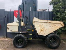 Terex TA9 9 Tonne Straight Tip Dumper 2012