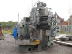 Boring Mill Milling Machine Webster and Bennet