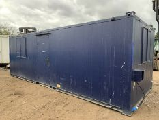Anti Vandal Steel Portable Site Office 24ft x 9ft