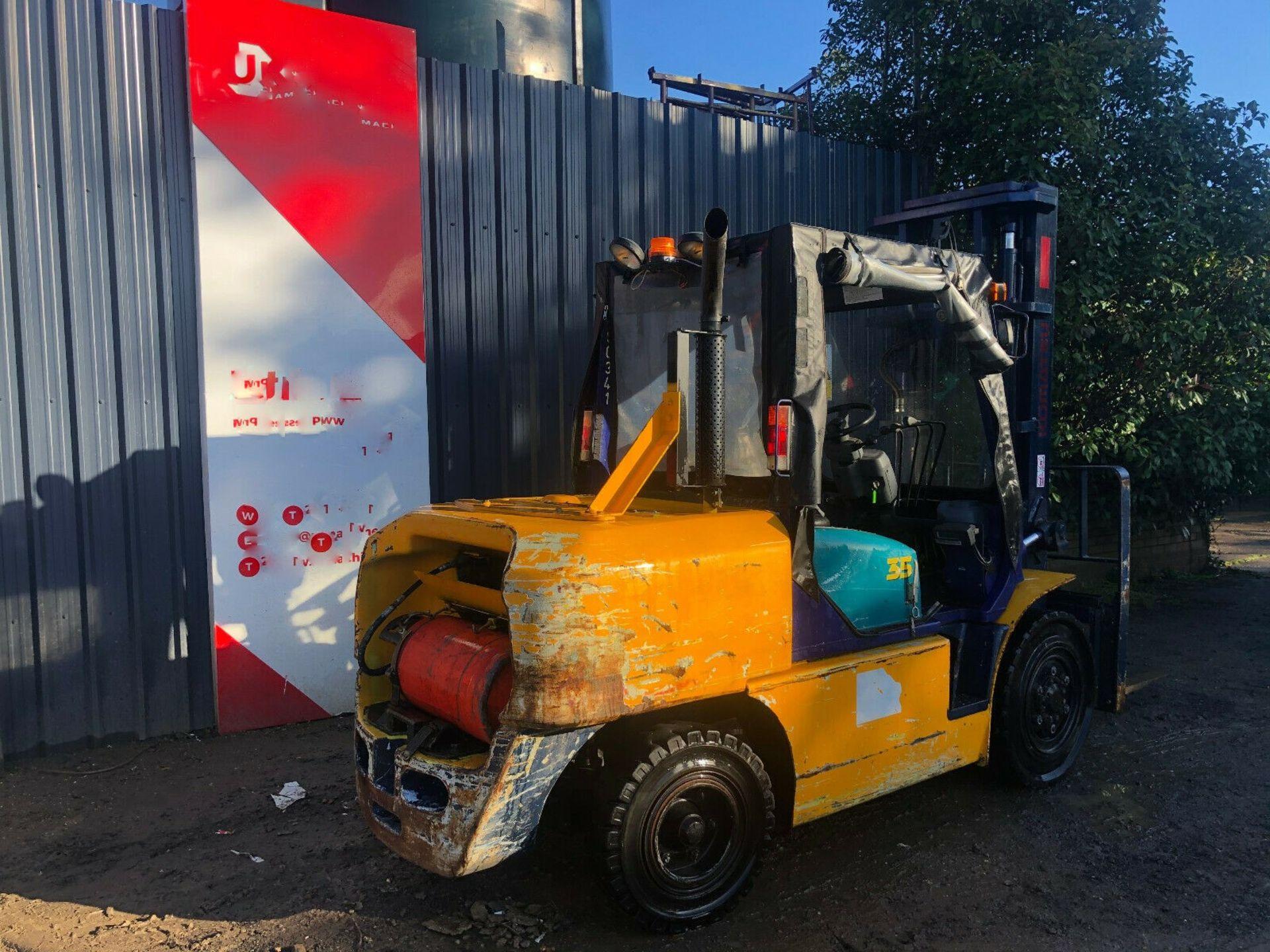 Komatsu FG35 T-7 LPG Forklift - Image 5 of 12