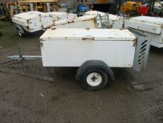 Single Axle Ring Hitch Trailer