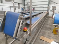 Continuous Belt Assembly Conveyor with Variable Speed Control
