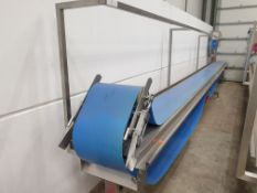 AFT GROTE Continuous Belt Assembly Conveyor with INVERTEC Variable Speed Control