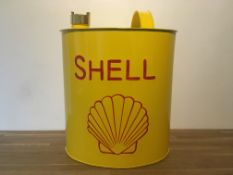 Shell Oval Oil Can