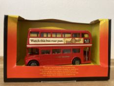 Corgi London Transport, Red Watch This Bus Roar Past Routemaster - 469