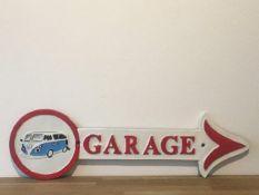 Volkswagen Cast Iron Garage Arrow Sign
