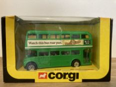Corgi London Transport, Green Watch This Bus Roar Past Routemaster - 469
