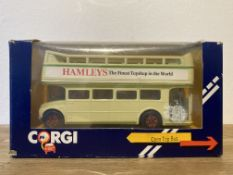Corgi Open Top Bus Hamleys - C528