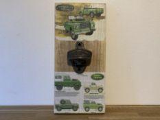 Land Rover Bottle Opener