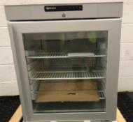Undercounter Glass Door Refrigerator KG 210 RG 3W