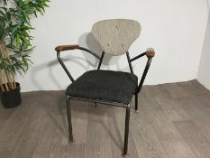 Staimobler Fabric Feature Chair