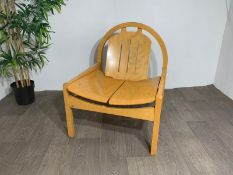 Wood Feature Chair