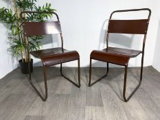 Nest-a-Bye Brown Chair Pair