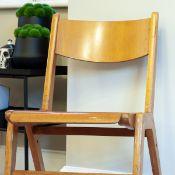 Mid Century Wooden Chair