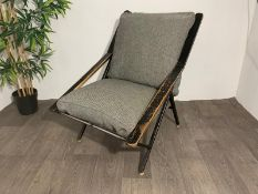 Mid Century Spring Lounge Chair