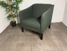 Green Commercial Grade Lounge Chair