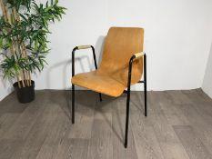 Beaded Handle Chair