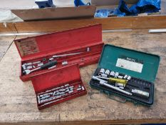Socket Sets x3