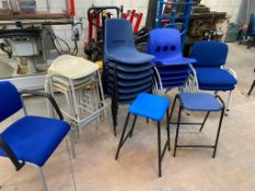 A Mixture of Chairs and Stools