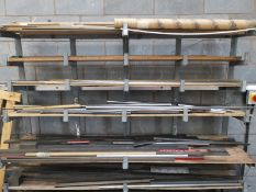Steel Racking with Various Metal Sheeting
