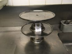 Cake Stands x 2