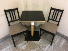 Table and Chairs x 2
