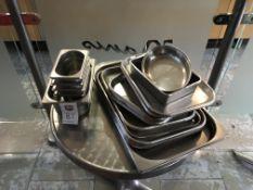 A Quantity of Kitchen Equipment