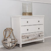 Hampton Chest of 3 drawers