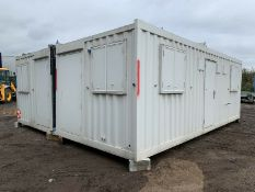 Anti Vandal Steel Modular Office Building.