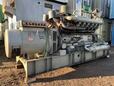 750 KVA Dale Generator PAXMAN V12 Engine