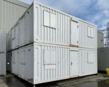 Anti Vandal Steel Modular Building