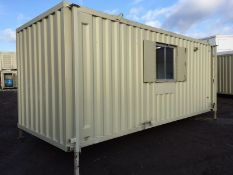 Anti Vandal Steel Welfare Unit Complete With Generator