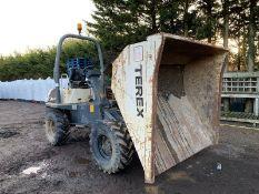 Terex 3 Ton Straight Tip Dumper Year 2010