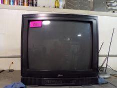 Microwave, toaster, TV