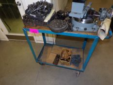 Cart w/Moore Precision indexing turn-table