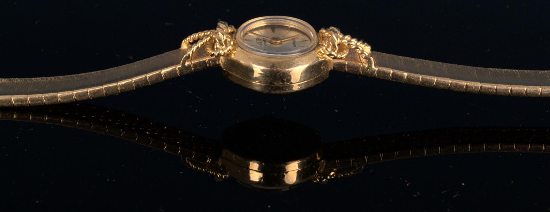 """Schmuckvolle, filigrane """"IPOSA"""" - Damenarmbanduhr, ungeprüftes mechanisches Uhrwerk mit 17 - Bild 3 aus 6"""