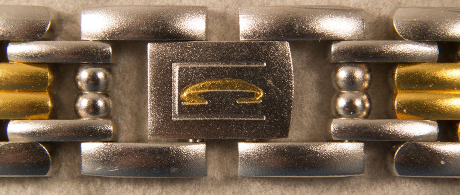 CITIZEN - CLARITI - BICOLOR (Stahl/Gold) Damenarmbanduhr, Ziffernblatt mit figürlicher Vignette (Reh - Bild 6 aus 8