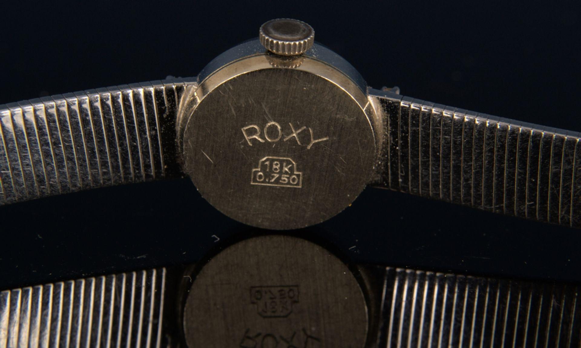"Elegante COCKTAIL - Damenarmbanduhr der Marke ""ANKER - ROXY"" - 17 Rubis - Incabloc. Handaufzug, - Bild 6 aus 11"