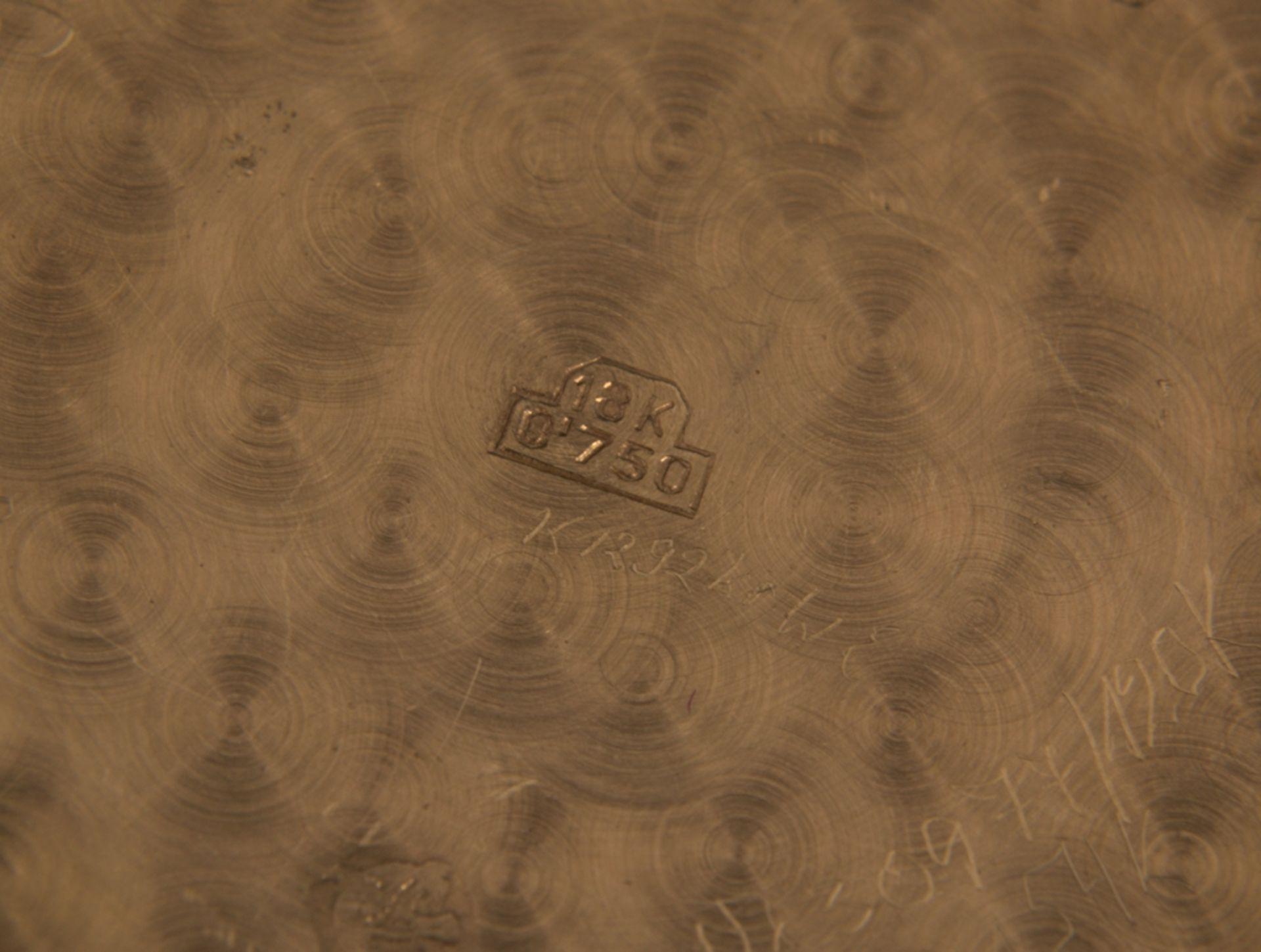 """""""LONGINES"""" - Elegante, goldene Herrenarmbanduhr der Marke Longines. Gehäuse in 18 K Gelbgold, - Bild 2 aus 12"""