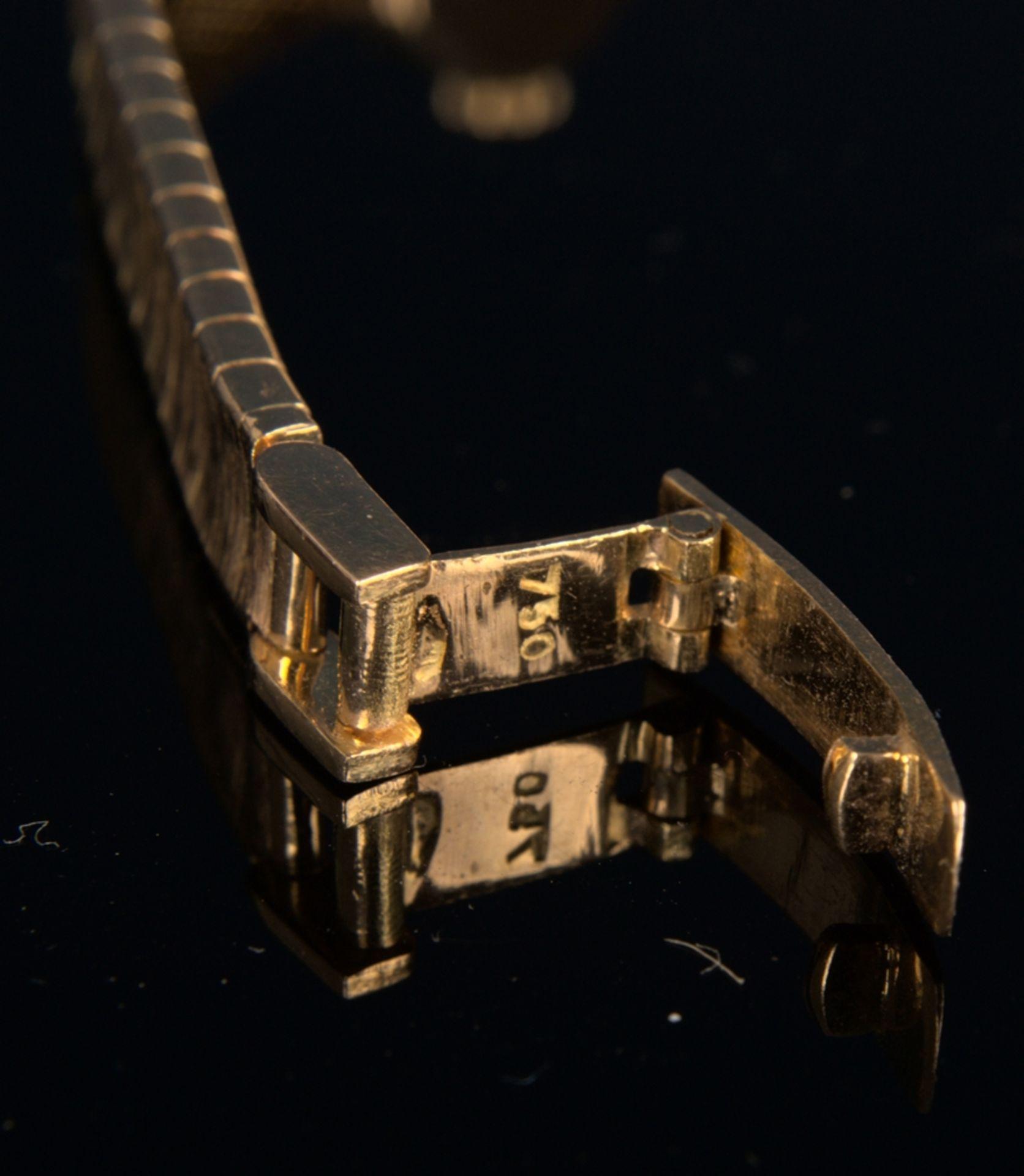 """Schmuckvolle, filigrane """"IPOSA"""" - Damenarmbanduhr, ungeprüftes mechanisches Uhrwerk mit 17 - Bild 6 aus 6"""
