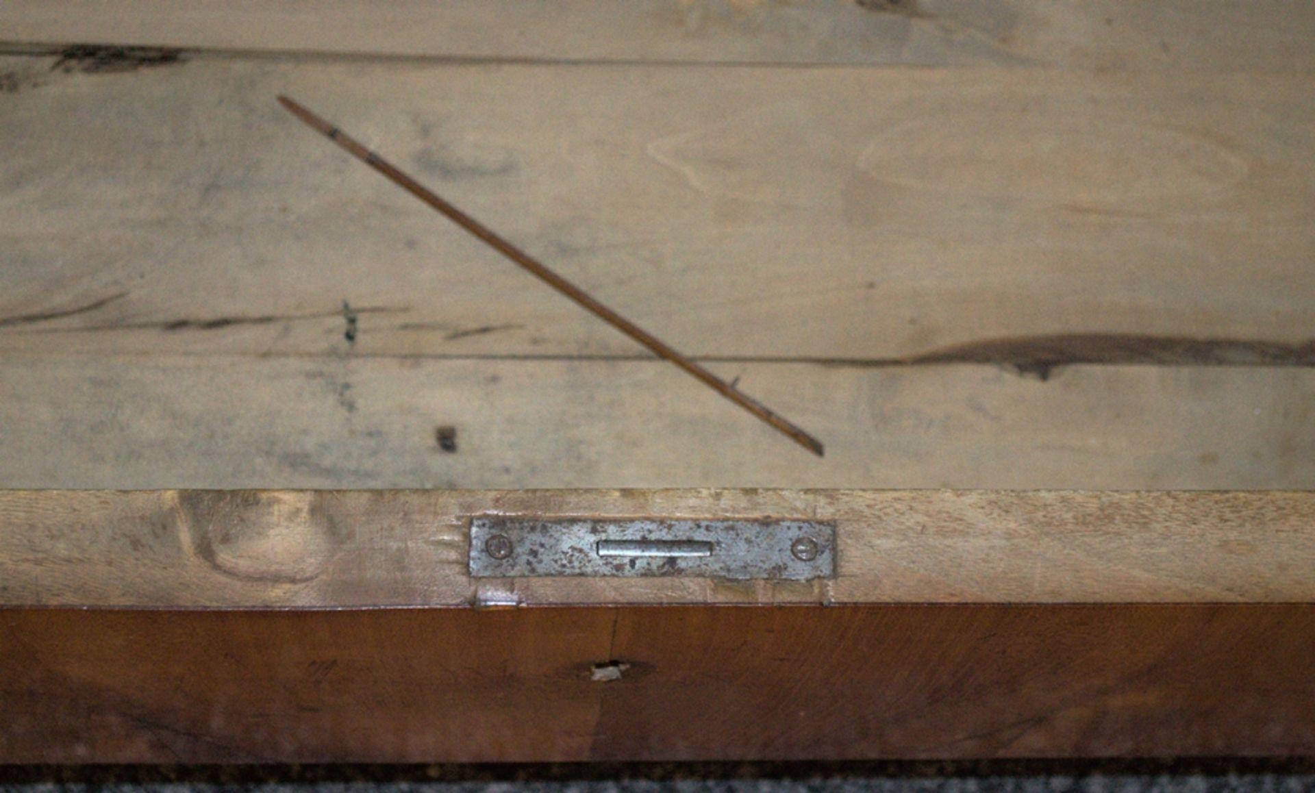 Zweitüriger Glasschrank/Bücherschrank/Vitrine. Norddeutsches Spätbiedermeier/Louis Philippe, 2. - Bild 9 aus 14