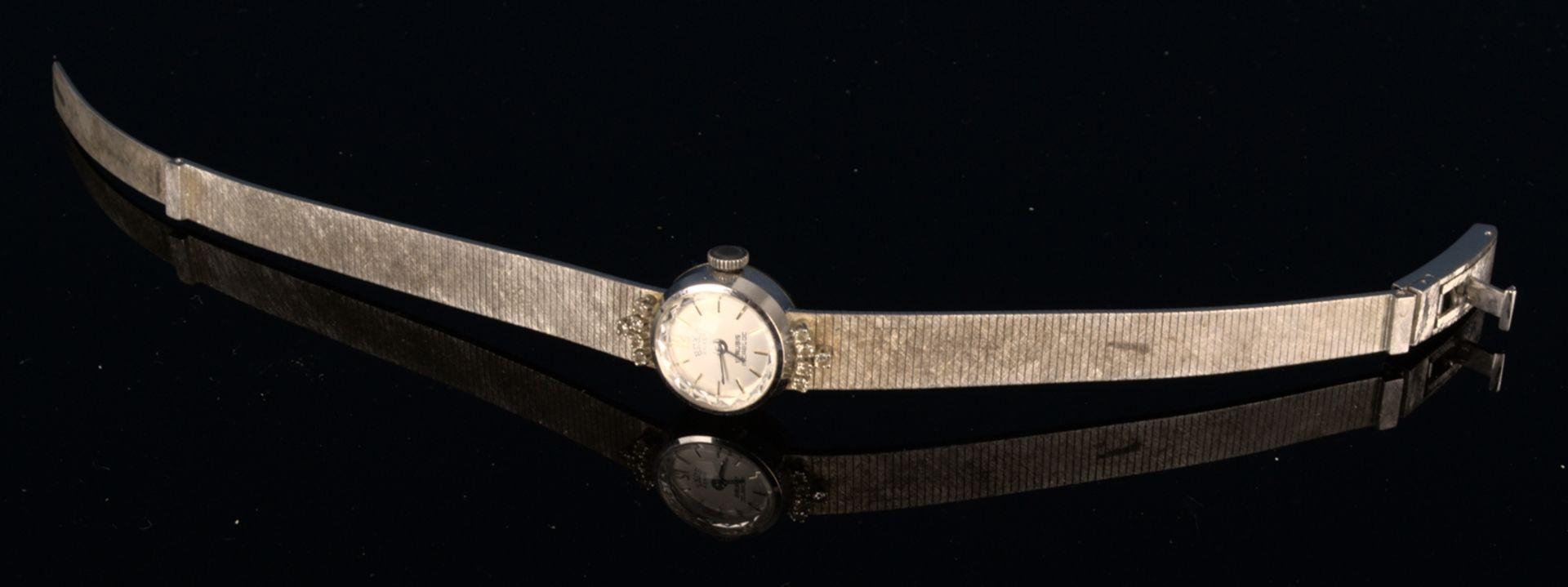 "Elegante COCKTAIL - Damenarmbanduhr der Marke ""ANKER - ROXY"" - 17 Rubis - Incabloc. Handaufzug, - Bild 2 aus 11"