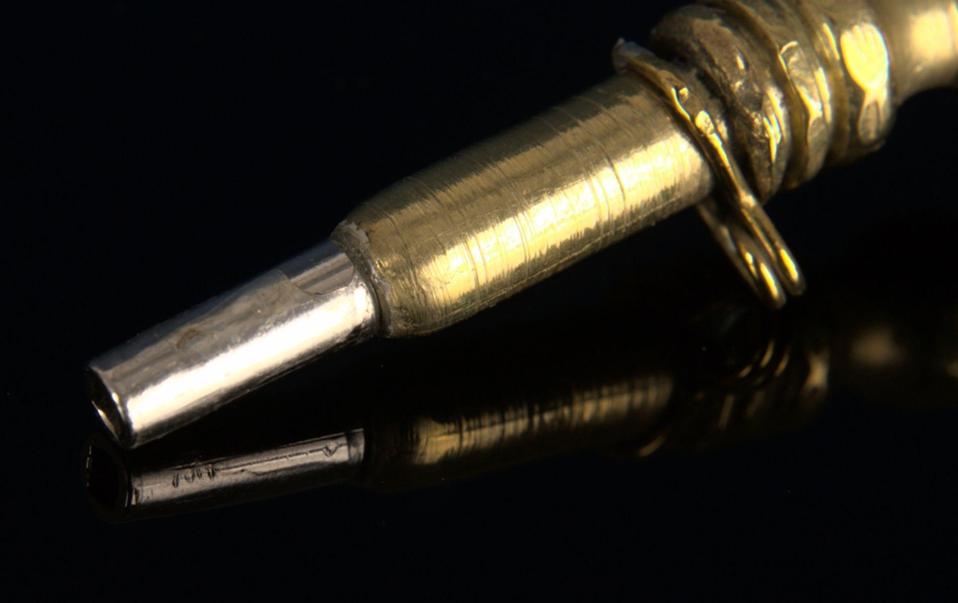 8teilige Sammlung versch. Taschenuhrenschlüssel, überwiegend 19. Jhd. Versch. Alter, Größen, - Bild 21 aus 24